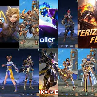 Skin Hero Mobile Legends Terbaru 2020