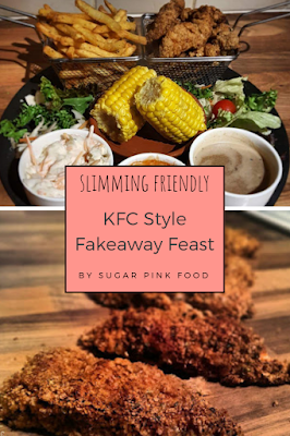 Slimming World Fakeaway KFC Style Chicken Fakeaway