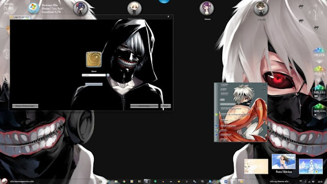 Tokyo Ghoul Theme Win 7 by Andrea_37
