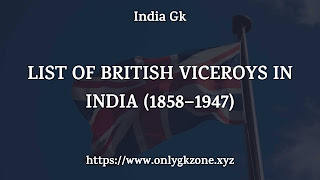 list-of-british-viceroys-in-india