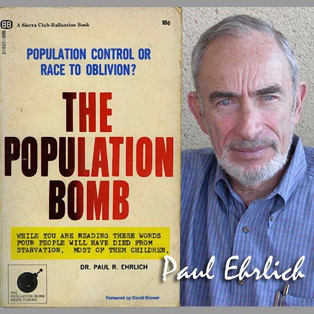 Paul Ehrlich é o mais famoso pregador de uma redução drástica da humanidade, mas é acolhido no Vaticano como autoridade enquanto bane os defensores da vida