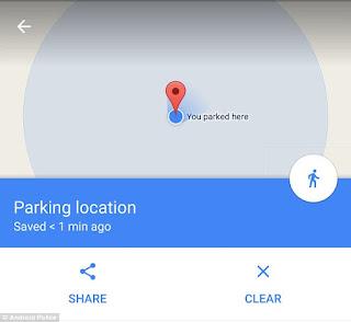 خرائط جوجل دبوي موقف السيارات