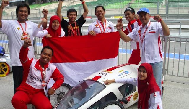 mobil anak bangsa mahasiswa Indonesia yang juara dunia