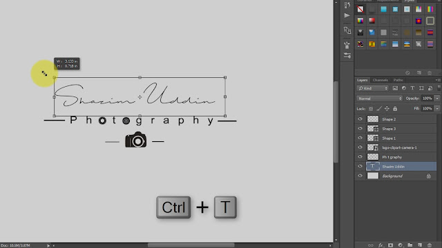 how to create own signature logo for photography screenshot 4