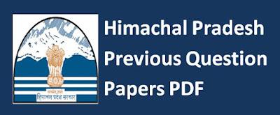 Himachal Pradesh Previous Papers