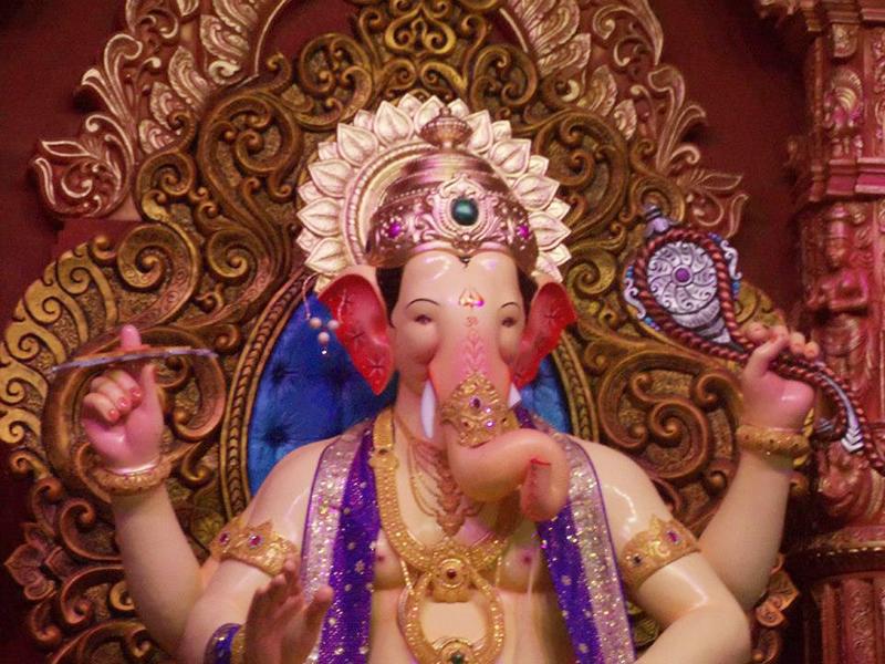 Ganesh Chaturthi Lalbaugcha Raja images wallpaper