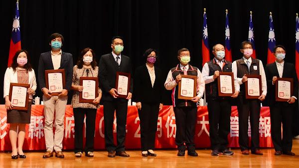 成功化解勞資糾紛 彰化表揚績優調解人及民間團體