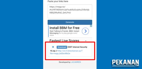 Cara Terbaru Download File Dari Mega Di HP Tanpa Aplikasi