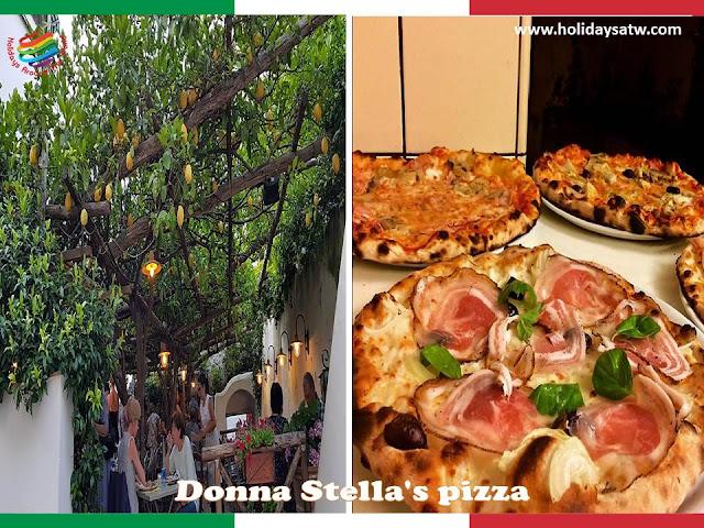 Top restaurants in Amalfi Coast, Italy
