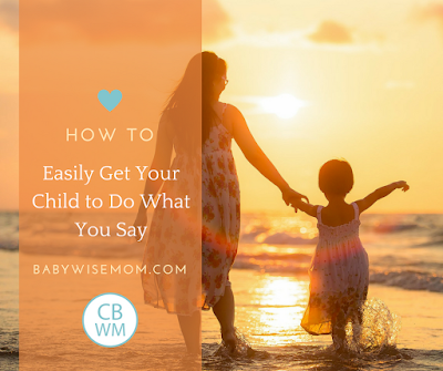 How To Easily Get Your Child To Do What You Say