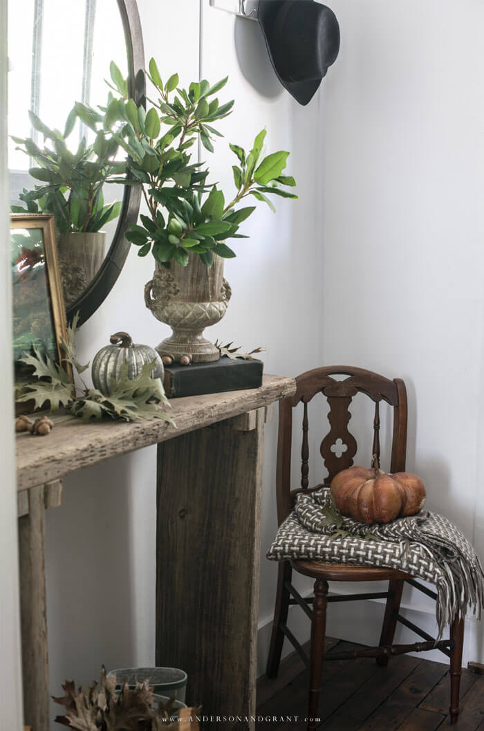 Looking for more warmth or a cohesive look to your fall decorating - Read this post to find out the five things every room needs.