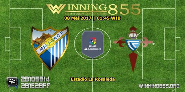 Prediksi Skor Malaga vs Celta de Vigo 08 Mei 2017