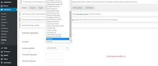 LearnPress Plugin How to Add Currency ThimPress in Wordpress