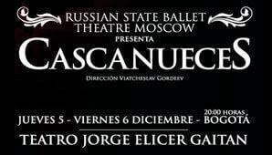 EL CASCANUECES del Ballet Nacional de Rusia en Colombia