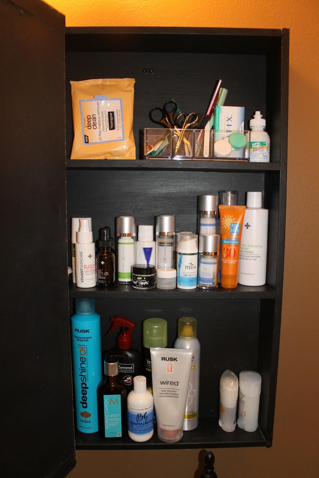 Pretty in Place: Medicine Cabinet Redo