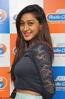 Shravya in skirt and tight top at Vana Villu Movie First Song launch at radio city 91.1 FM ~  Exclusive 24.JPG
