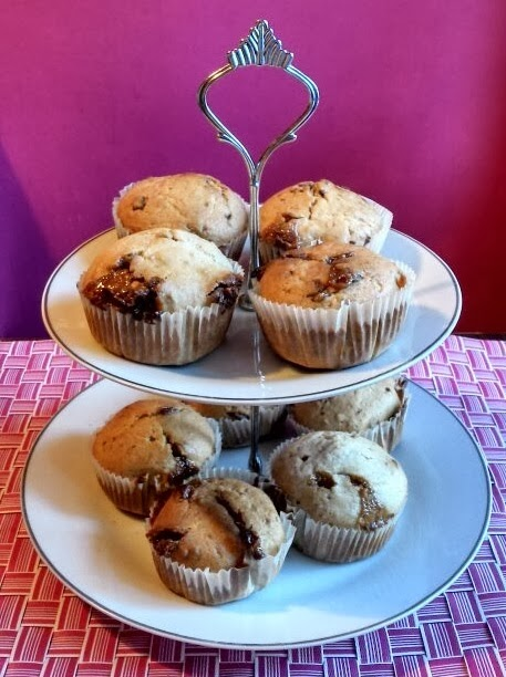 Rezept Snickers Muffins