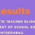 Telangana TET Results 2017