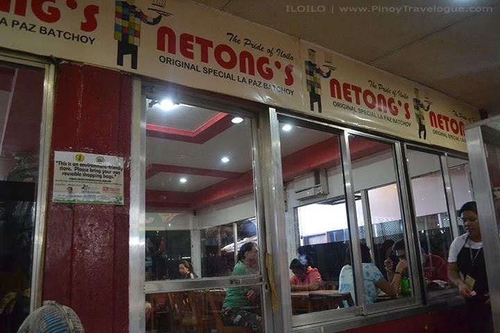 Outside Netong's in La Paz Market