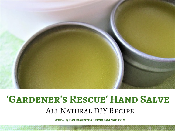 Natural hand salve recipe