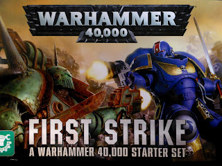 Warhammer 40,000: First Strike cover art