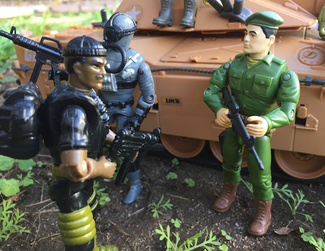 1994 Stalker, Shipwreck, Joseph Colton, Mail away, Mauler, 1985, Action Soldier