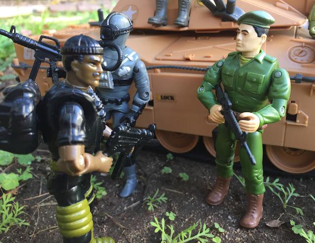 1994 Stalker, Shipwreck, Joseph Colton, Mail away, Mauler, 1985, Action Soldier