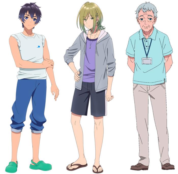 Aquatope of White Sand (Shiro Suna no Aquatope) anime - personajes