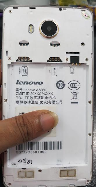 Lenovo A5860 Firmware Flash File
