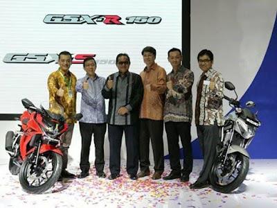 Suzuki GSX-R150 & Suzuki GSX-S150 launching