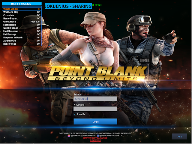 Cheat Point Blank Zepetto 22 Juni 2019   Simple Fiture