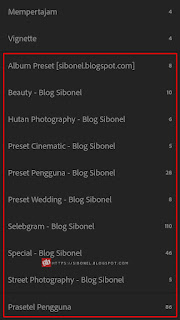 Download 300+ Preset XMP Lightroom Mobile Android & Cara Menggunakan
