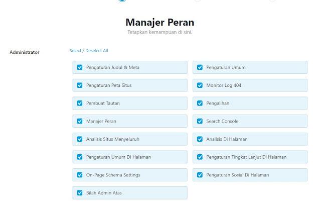 Manager Peran