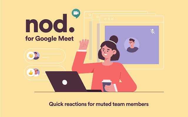 Nod- Reacciones en Google Meet