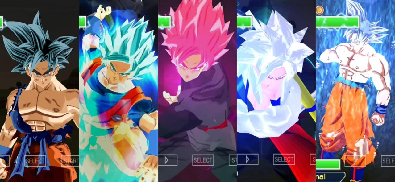 Super Dragon Ball Heroes Goku Ultra Instinct