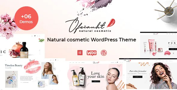 Best Natural Cosmetics WordPress Theme