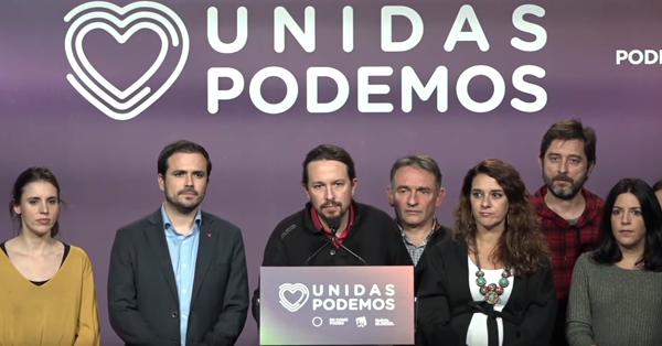 Valoración de Pablo Iglesias de la jornada electoral (Vídeo)