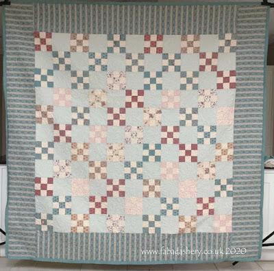 Carol's Nine Patch Quilt