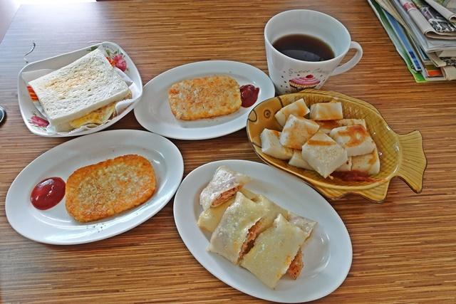 素味香早餐店~土城交流道素食、捷運永寧站素食