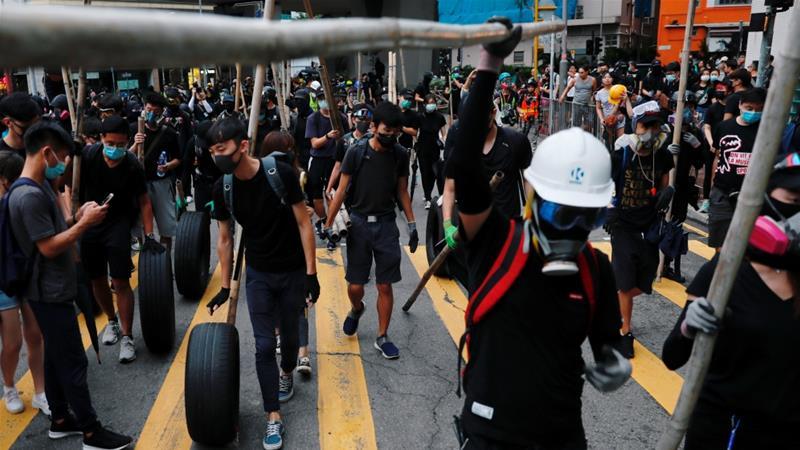 China slams 'criminal' EU response to Hong Kong clampdown
