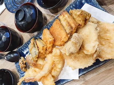 Seafood Tempura Platter for Two at Akimitsu Australia