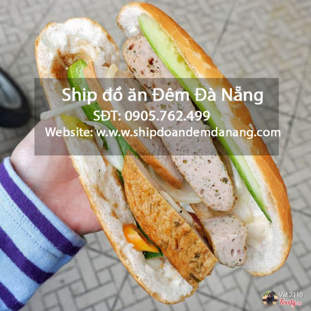 banh mi cha bo - ship do an dem Da Nang