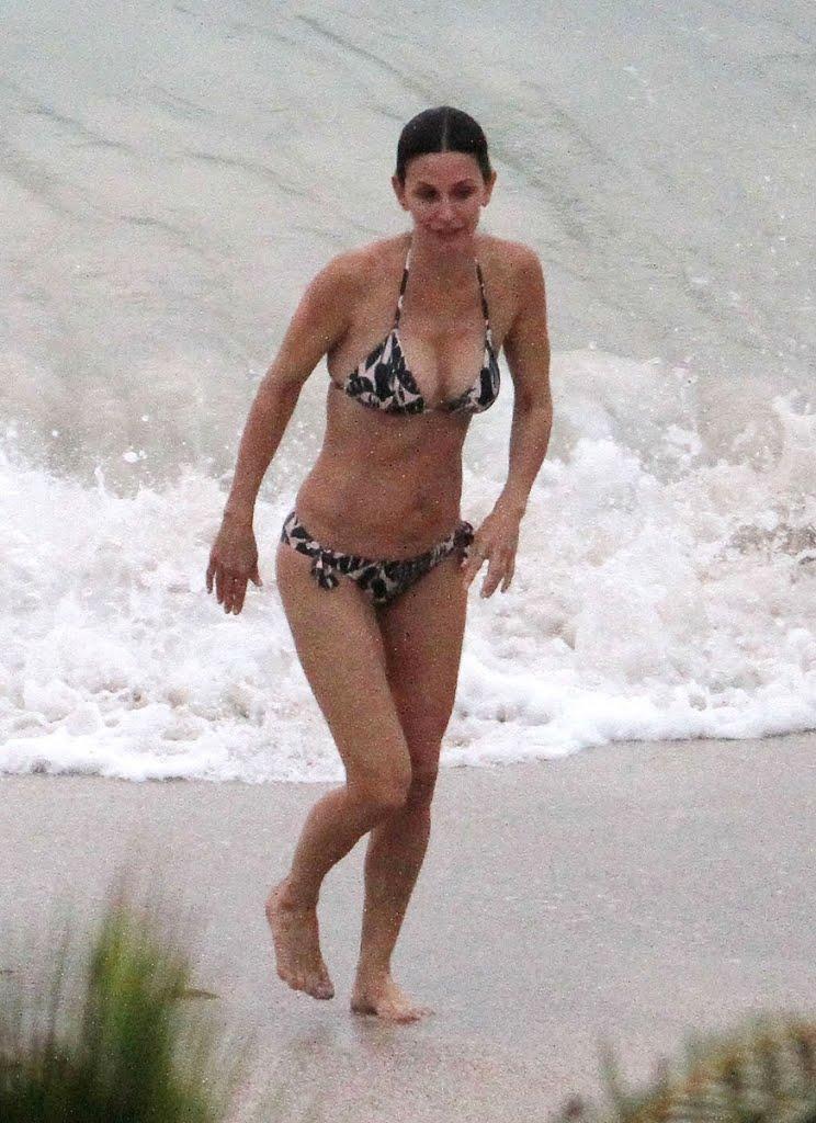 Kristina fey ass bikini