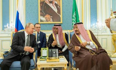 العلاقات السعودية الروسية, الملك سلمان, الرئيس الروسى, العلاقات الثنائية, روسيا,