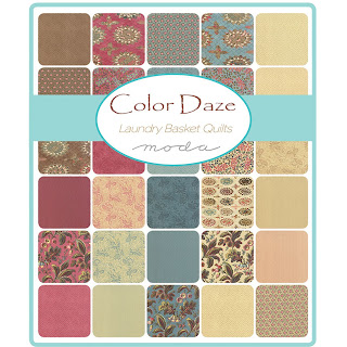Moda Color Daze Prints Fabric by Laundry Basket Quilts for Moda Fabrics