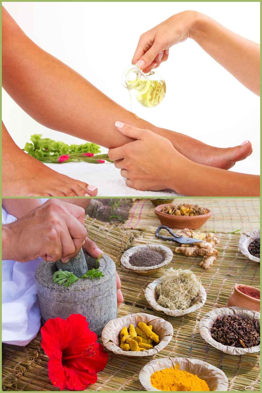 Remèdes naturels à base de plantes pour les pieds brûlants