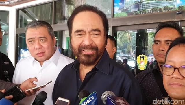 Surya Paloh Singgung Gerindra Ajukan Syarat Gabung Koalisi Jokowi