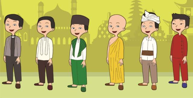 Di Indonesia, diakui adanya enam agama resmi, yaitu Hindu, Buddha, Islam, Katolik, Kristen, dan Konghucu.