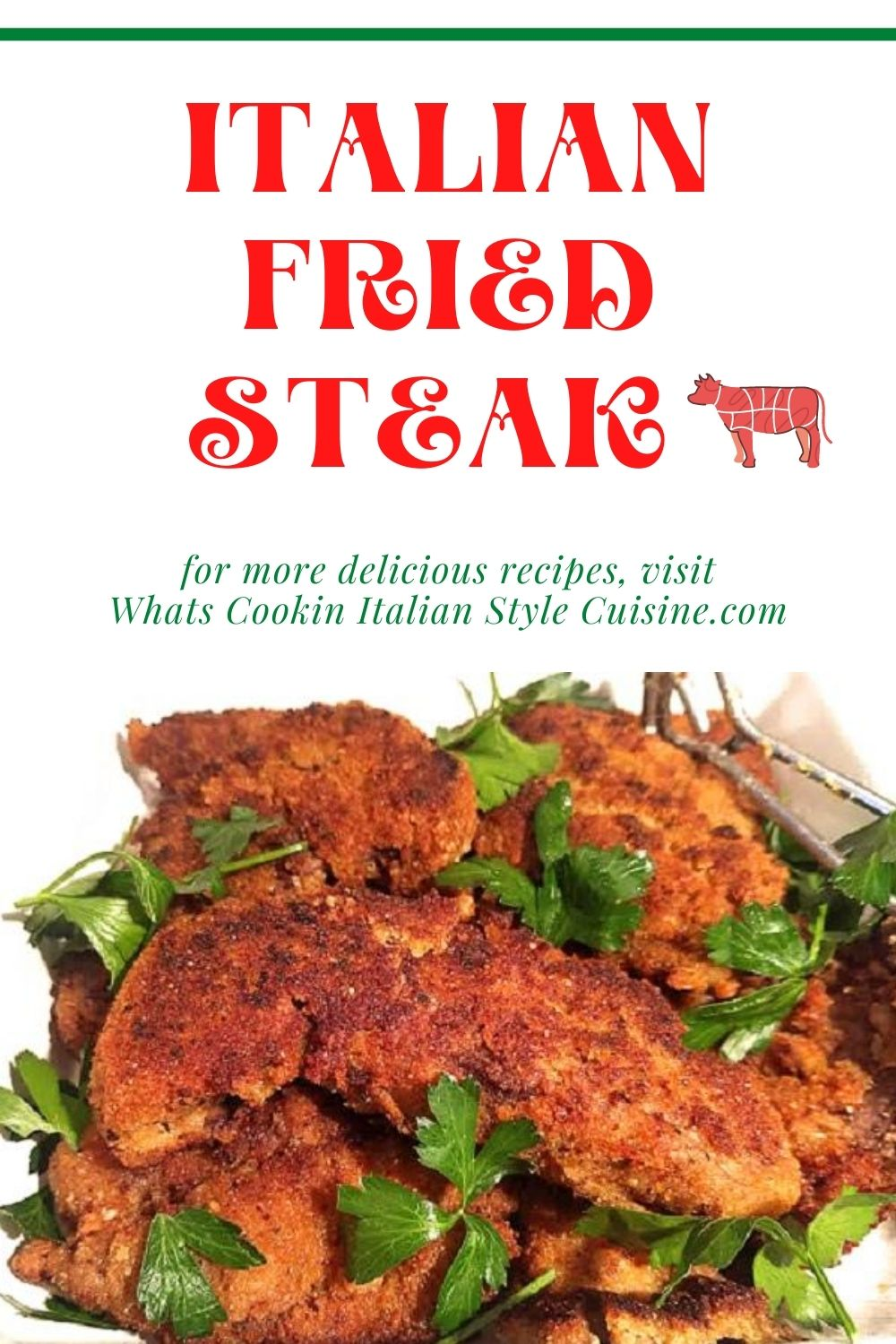 this is a pin for later on how to make Italian fried steaks