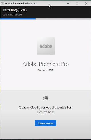 Hướng dẫn nhanh cách cài đặt phần mềm Adobe Premiere Pro CC 2021 15.4 b